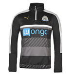 2016-2017 Newcastle Puma Quarter Zip Training Top (Black)