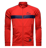 2016-2017 PSG Nike Core Trainer Jacket (Red)