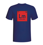 Lionel Messi Barcelona Periodic Table T-shirt (navy) - Kids