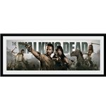 The Walking Dead Framed Picture - Survival - 76x30 Cm