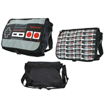 Nintendo - NES Reversible Flap Messenger Bag