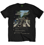 The Beatles Men's Tee: Abbey Road 8 Track