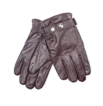 Free Authority - Men's Leather Gloves.Black