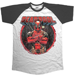 Marvel Comics Men's Raglan Tee: Crossed Arms