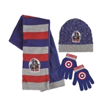 Captain America Scarf and Cap Set 246543
