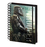 Star Wars Rogue One Notebook A4 Death Trooper