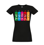 Sailor Moon Ladies T-Shirt All Characters
