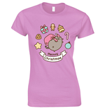 Pusheen Ladies T-Shirt Meowy Christmas