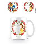 Beauty and the Beast Mug Roses