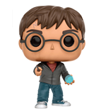 Harry Potter POP! Movies Vinyl Figure Harry With Prophecy 9 cm
