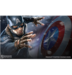 Captain America The Winter Soldier Premium Format Figure Captain America