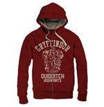 Harry Potter Hooded Sweater Gryffindor Quidditch Vintage