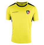 2016-2017 Leicester Tigers Training Gym Shirt (Fluo Green)