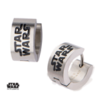 Star Wars Earrings Enamel Filled Logo