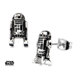 Star Wars Earrings 3D R2-D2