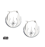 Star Wars Earrings Jedi Order & Cubic Zirconia