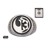 Star Wars Rogue One Ring Rebel Alliance/Galactic Empire Symbol