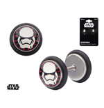 Star Wars Episode VII Earrings First Order Stormtrooper Screw Back