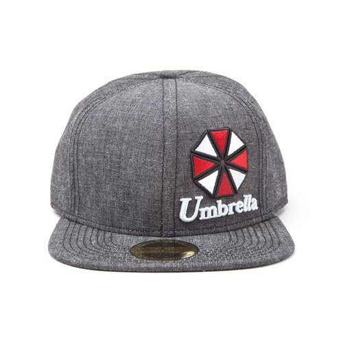 Resident Evil Snap Back Cap Umbrella Logo
