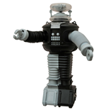 Lost In Space Electronic Robot B9 Anti-Matter Version 25 cm