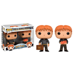 Harry Potter POP! Movies Vinyl Figures 2 Pack Fred & George Weasley 9 cm