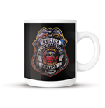 The Police - Shield - Mug Black
