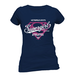 Supergirl - Athletics - Unisex T-shirt Blue