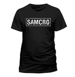 Sons Of Anarchy - Samcro Banner - Unisex T-shirt Black