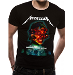 Metallica - Hardwired Album Cover - Unisex T-shirt Black