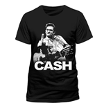 Johnny Cash - Finger - Unisex T-shirt Black