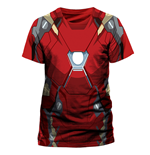 Iron Man - Iron Man Costume Sublimation - Unisex T-shirt Red