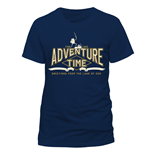 Adventure Time - Collegiate - Unisex T-shirt Blue