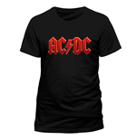 AC/DC - Red Logo - Unisex T-shirt Black