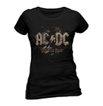 AC/DC - Rock Or Bust - Women Fitted T-shirt Black