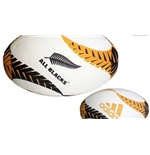 All Blacks Rugby Ball Gold