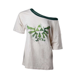 The Legend of Zelda - Triforce Logo Off Shoulder T-shirt