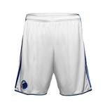2016-2017 FC Copenhagen Adidas Home Shorts (White)