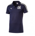 Italy 2006 Tribute Polo Shirt (Peacot-Grey)