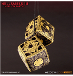 Hellraiser III Plush Lament Configuration Fuzzy Dice 7 cm