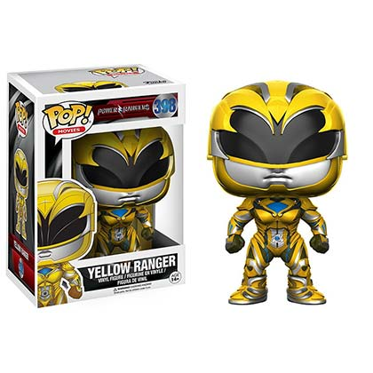 Funko Pop Yellow Power Ranger Figurine