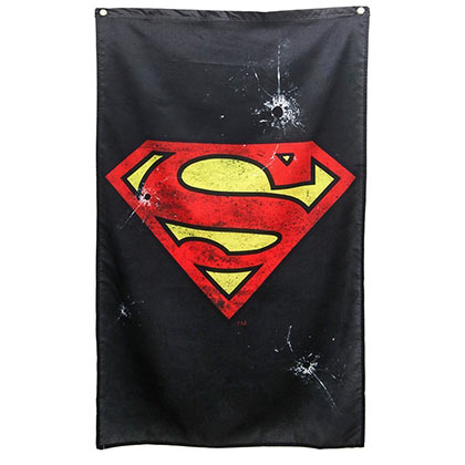 SUPERMAN Logo Banner
