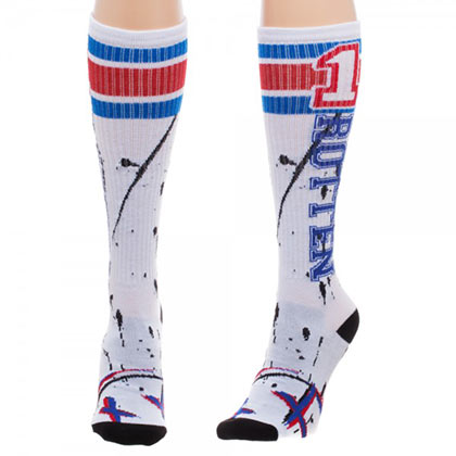 SUICIDE SQUAD Harley Quinn Rotten Knee High Socks