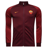 2016-2017 AS Roma Nike Authentic N98 Jacket (Night Maroon)