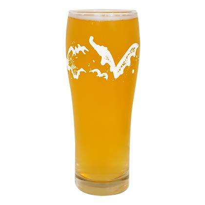 FLYING DOG Drinking Glass