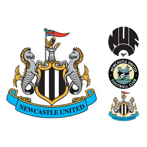 Newcastle United F.C. Wall Sticker Set CR