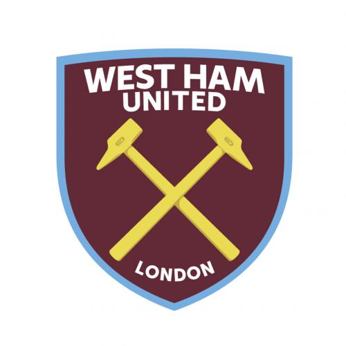 West Ham United F.C. Wall Sticker Set CR