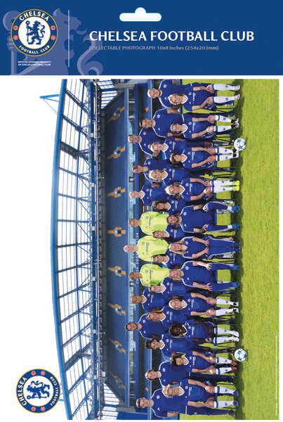 "CHELSEA Women Team Photo 16/17 10"" x 8"" Bagged Photographic"
