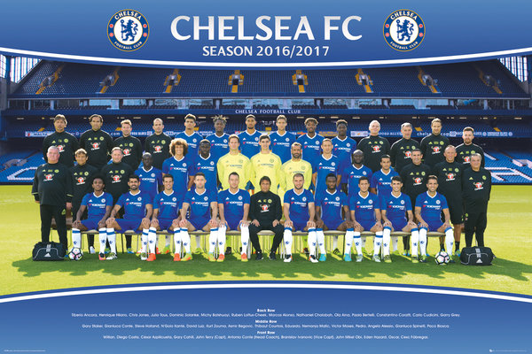 CHELSEA Team 16/17 Maxi Poster