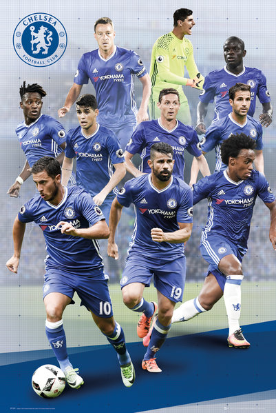 CHELSEA Players 16/17 Maxi Poster