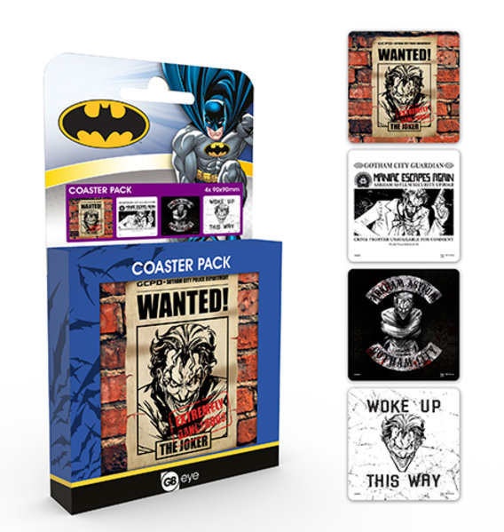 DC Comics Joker Coaster Box
